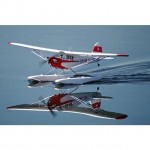 FMS 1400mm J3 CUB V3 with Float Set (Almost-Ready-to-Fly) - FMS106PF