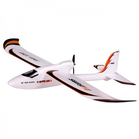 FMS Easy Trainer 1280mm RC Glider with 2.4GHz Radio System (Ready-to-Fly) - FS0170
