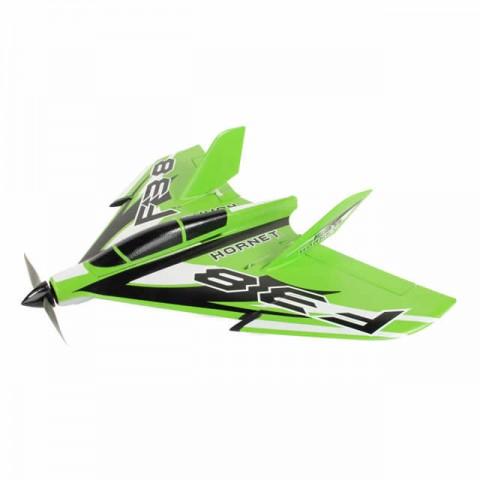 J Perkins F-38 Delta Racer 800mm Plug-N-Play Plane (Green) - JPDF1200G