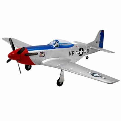Dynam P51 Mustang with Retracts 1200mm Fred Glover Warbird (Almost-Ready-to-Fly) - DYN8939V2-FG