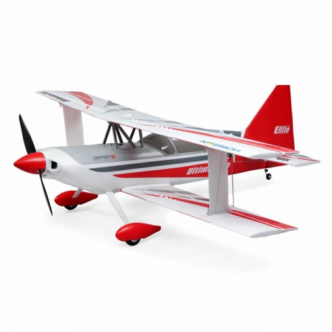 E-flite Ultimate 3D 950mm Biplane with Smart ESC, AS3X and SAFE Technology (BNF Basic) - EFL16550