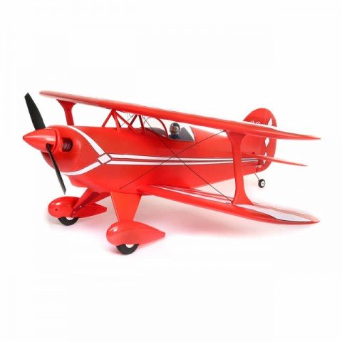 E-flite Pitts S-1S 850mm Biplane with AS3X and SAFE Select Technology (BNF Basic) - EFL3550