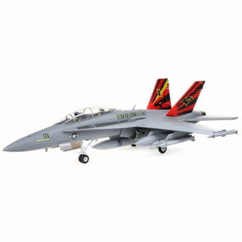E-flite F-18 Hornet 80mm EDF Ducted Fan Jet Airplane (BNF Basic) - EFL3950