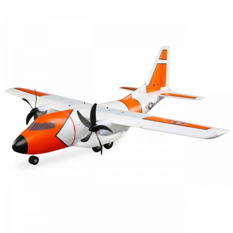 E-flite EC-1500 Twin Cargo Plane (1524mm) with AS3X and SAFE Technology (BNF Basic) - EFL5750