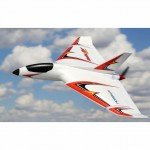 E-flite Delta Ray One 500mm Wingspan with SAFE Technology (BNF Basic) - EFL9550