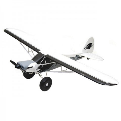 FMS 1700mm PA-18 Super Cub RC Plane with Reflex (Almost-Ready-to-Fly) - FMS110P