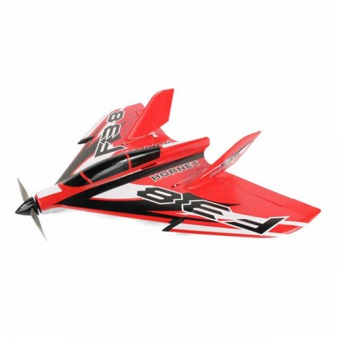 J Perkins F-38 Delta Racer 800mm Plug-N-Play Plane (Red) - JPDF1200R