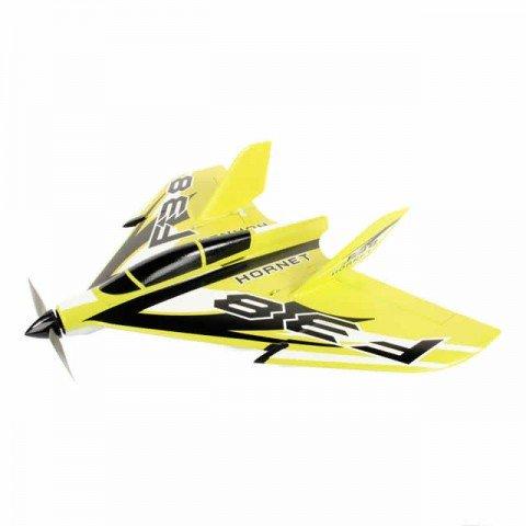 J Perkins F-38 Delta Racer 800mm Plug-N-Play Plane (Yellow) - JPDF1200Y