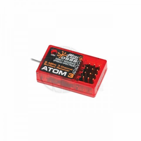 Hitec Atom 3 2.4Ghz 3 Channel DSSS Micro Receiver (29324) - 2226590