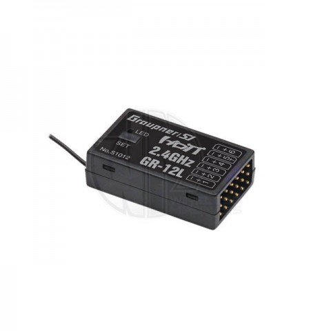 Graupner HoTT GR-12L 6-Channel 2.4Ghz Receiver - P-S1012
