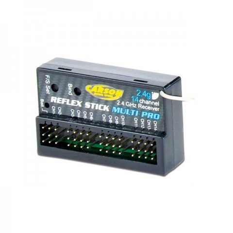Carson Reflex Stick 14-Channel 2.4Ghz Receiver - C501540