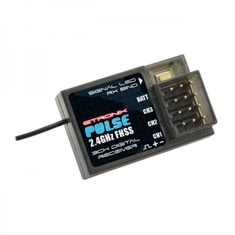 Etronix Pulse FHSS Receiver 2.4Ghz for ET1106 or ET1122 - ET1152