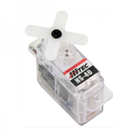 Hitec HS40 Ultra Nano Super Light 4.8g Servo - 2212035