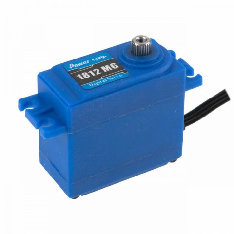 Power HD Metal Geared 18kg Waterproof Standard Size Servo - HD-1812MG