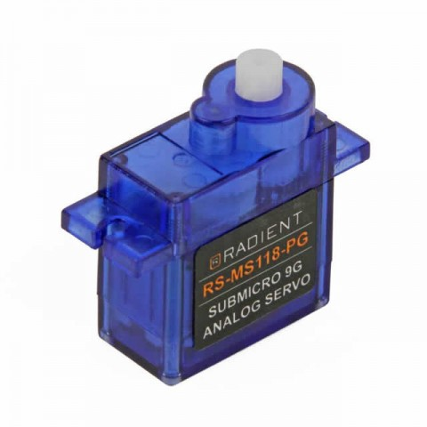 Radient 9g Micro Servo RS-MS118-PG - RDNA0408