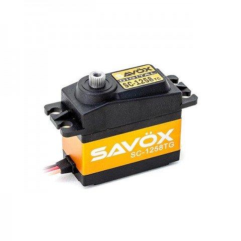 Savox Standard Size High Torque Coreless 12kg Titanium Gear Digital Servo - SAV-SC1258TG