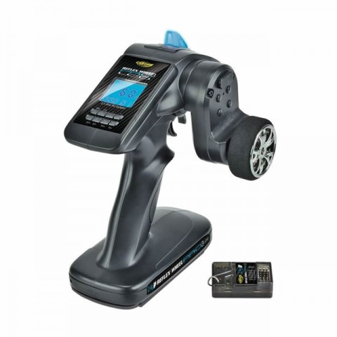 Carson Reflex Wheel Pro-3 LCD 3-Channel 2.4GHz Transmitter and Receiver - C500055