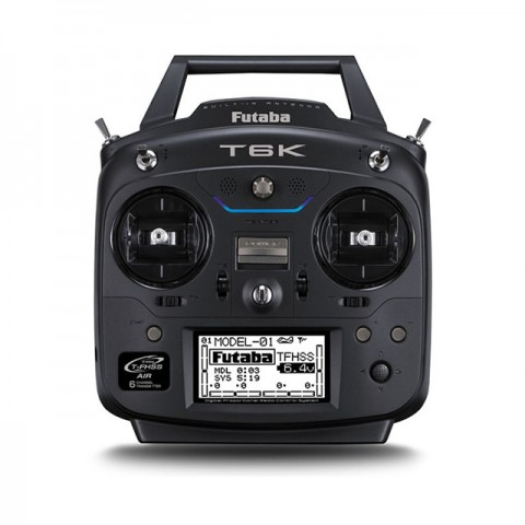 Futaba T6K V2 8-Channel 2.4GHz T-FHSS with R3006SB Receiver Combo (Mode 2) - CB6K-L