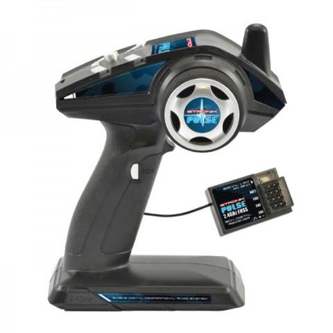 Etronix Pulse EX3G 3-Channel 2.4Ghz FHSS Wheel Radio System - ET1106