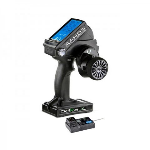 Absima CR3P AFHDS 2.4GHz 3Ch Radio System with LED Display (Transmitter and Receiver) - ABS2000002