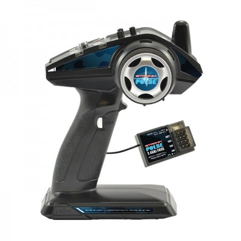 Etronix Pulse EX4G 4-Channel 2.4Ghz FHSS Wheel Radio System - ET1122