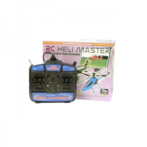 RealityCraft RC Heli Master Flight Simulator with Transmitter (Mode 2) - RCSIM51