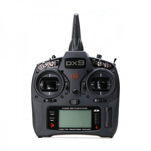 Spektrum DX9 Black 9-Channel Full Range DSMX 2.4Ghz Transmitter - SPMR9910EU