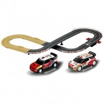 Carrera Go Lets Rally Mini/Citroen WRC 3.6m Slot Car Racing Set - CA62433