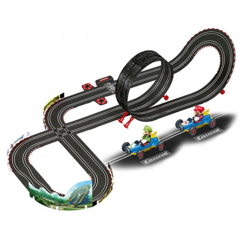 Carrera Go 5.3 Metre Nintendo Mario Kart Mach 8 Slot Car Racing Set - CA62492
