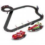Carrera Go Disney Pixar Neon Racers Slot Car Racing Set - CA62354