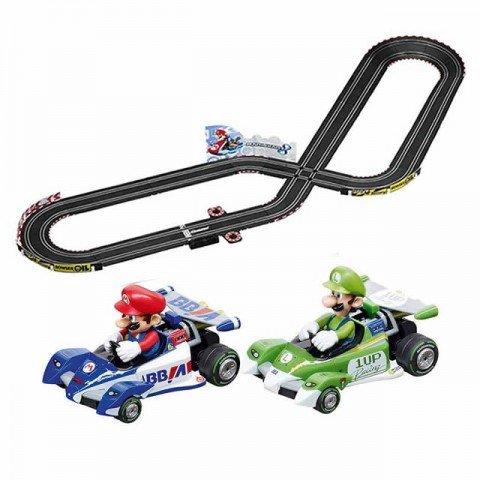 Carrera Go Mario and Luigi Kart 5-metre 1/43 Scale Slot Racing Set - CA62432