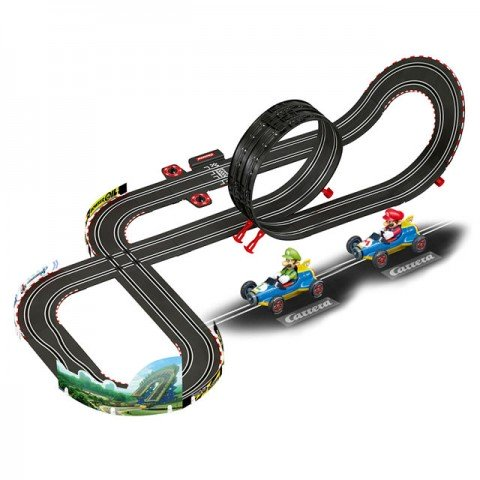 Carrera Go 5.3 Metre Nintendo Mario Kart Mach 8 Slot Car Racing Set - CA62492
