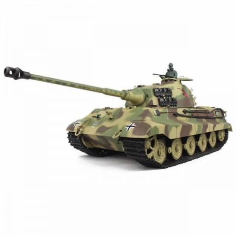 Heng Long 1/16 German King Tiger Henschel Tank with Smoke, Sound and 2.4GHz Radio System - 4400714