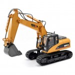 Huina 1/14th Scale RC Excavator with 2.4Ghz Radio System and Die Cast Bucket (Ready-to-Run) - CY1550