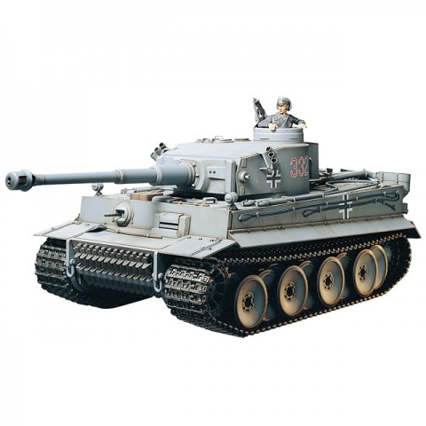 Tamiya 1/16 Tank Tiger I Early Full-Option (Unassembled Kit) - 56010