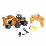 Huina RC Excavator with Die Cast Bucket and 2.4Ghz 6-Channel Radio System (Ready-to-Run) - CY1530