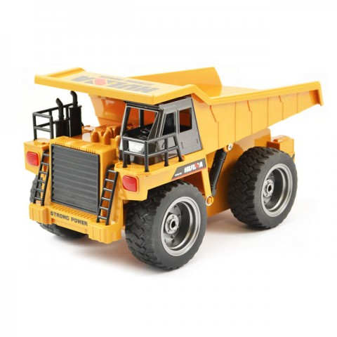 Huina RC Dump Truck with Die Cast Cab and 2.4Ghz Radio System - CY1540