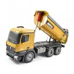 Huina 1/14 Radio Controlled Tipper Dump Truck with Die Cast Cab, Buckets and Wheels - CY1573