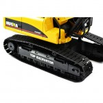 Huina 1/14 Full Alloy 23-Channel 2.4Ghz V2 Excavator Version 3.0 (Ready to Run) - CY1580