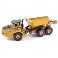 Huina 1/50 Diecast 6-Wheel Dump Truck Static Diecast Model - CY1712