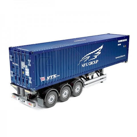 Tamiya NYK 40ft Scaled Semi-Trailer Container Model Kit - TAM-56330