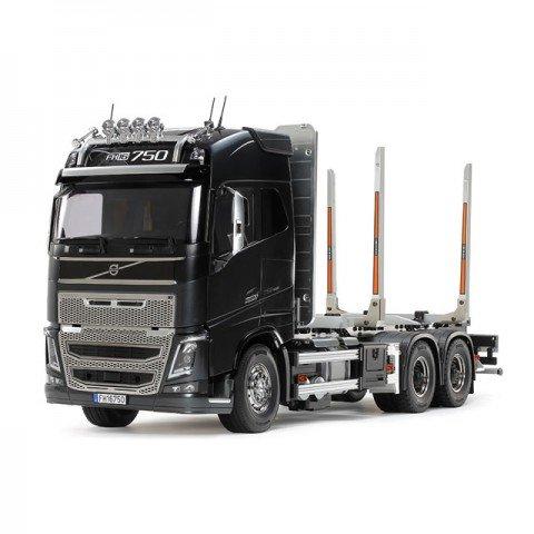 Tamiya 1/14 Volvo FH16 Globetrotter 750 6x4 RC Timber Truck (Unassembled Kit) - 56360