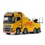 Tamiya 1/14 Volvo FH16 Globetrotter 750 8x4 Tow Truck (Unassembled Kit) - 56362