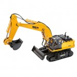 Huina 1/16 Scale RC Excavator with Die Cast Bucket and 2.4Ghz Radio System (Ready to Run) - CY1510
