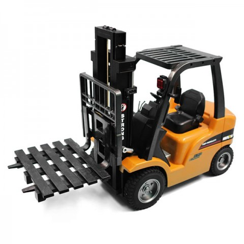 Huina RC Fork Lift with Die Cast Parts and 2.4Ghz 8-Channel Radio System (Ready-to-Run) - CY1577