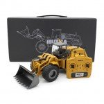 Huina 1/14 Alloy 10-Channel Wheel Loader with 2.4Gz Radio System (Ready to Run) - CY1583