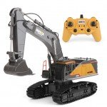 Huina 1/14 RC Excavator 2.4Ghz 22-Channel with Die Cast Cab and Bucket (Ready to Run) - CY1592