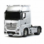 Tamiya 1/14 Mercedes Actros Gigaspace Tractor Truck (Unassembled Kit) - TAM-56335
