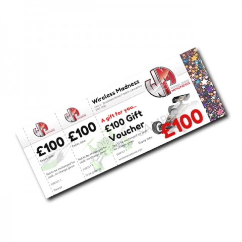 Wireless Madness Gift Vouchers (4) - £100 Value
