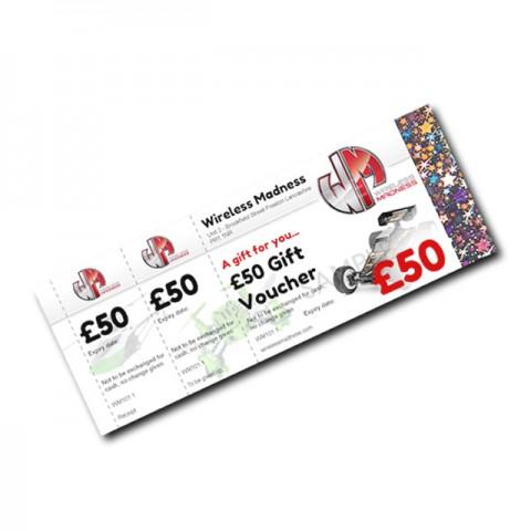 Wireless Madness Gift Vouchers (3) - £50 Value